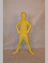 Festival/Holiday Costumes Yellow Solid Zentai Kid Lycra Fully Covered