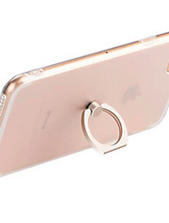 Para Soporte para Anillo / Transparente Funda Cubierta Trasera Funda Un Color Suave TPU AppleiPhone 7 Plus / iPhone 7 / iPhone 6s Plus/6