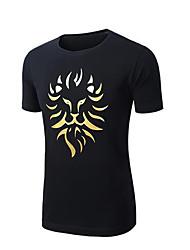 Men's Running T-Shirt Sleeveless Waterproof Windproof High Breathability (>15,001g) Breathable T-shirt Tracksuit Top for Yoga Taekwondo