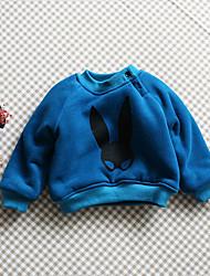 Unisex Casual/Daily Animal Print Hoodie & Sweatshirt,Cotton Winter / Fall Long Sleeve Short