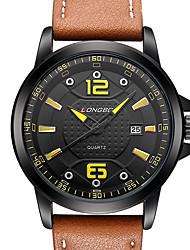 Men's Sport Watch Military Watch Dress Watch Fashion Watch Wrist watch Calendar Water Resistant / Water Proof Quartz Japanese Quartz