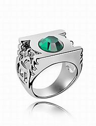 Ringe Normal Schmuck Kupfer Herren Ring 1 Stück,Eine Größe Wie in der Abbildung angezeigt