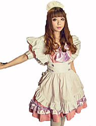 Maid Costumes Festival/Holiday Costumes Dress / Headwear / Apron  Female Polyester
