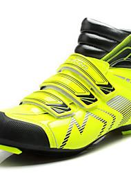 Femme-Extérieure Sport-Vert-Talon Plat-Confort-Chaussures d'Athlétisme-Microfibre