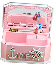 Music Box ABS Pink Music Toy