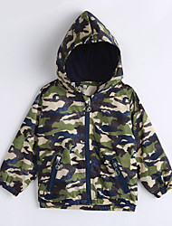 Boy Casual/Daily Print Jacket & Coat,Cotton Fall Long Sleeve