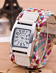 Korean version of the fashion watch Bohemian style colorful watch Women's leisure watch watch