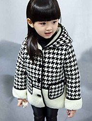 Girl Casual/Daily Solid Down & Cotton PaddedPolyester Winter / Spring / Fall Long Sleeve