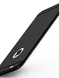 Para iPhone X iPhone 8 iPhone 7 iPhone 7 Plus iPhone 6 Case Tampa Áspero Capa Traseira Capinha Côr Sólida Macia Silicone para Apple