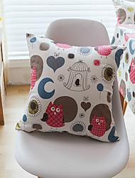 1 pc Cotton Pillow CaseAnimal Print / Graphic Prints Modern/Contemporary / Casual