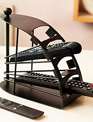 Best SellingRemoteControl TV Holder / Storage Caddy - Black Metal Arched