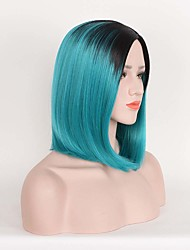 moda negra direto para Bule cor perucas sintéticas perucas cosplay