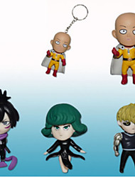 One Punch Man Cosplay PVC 7 Figures Anime Action Jouets modèle Doll Toy