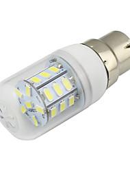 4W B22 Ampoules Maïs LED T 27 SMD 5730 280 lm Blanc Chaud Blanc Froid Décorative V 1 pièce