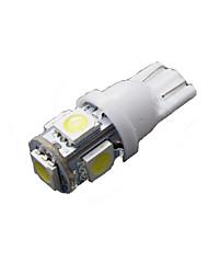 50 pièces t10 blanc 5 cms plaque d'immatriculation 5050 6000k pur conduit W5W lumière 168 194 2825