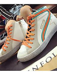 Damen-Sneaker-Outddor-KunstlederOthers-Schwarz / Rosa / Orange