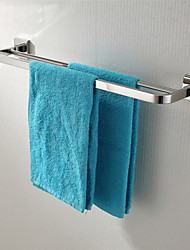 Towel Bar Stainless Steel Wall Mounted 600x 130 x 600mm (23.6 x 5.12 x 2.36 Stainless Steel Contemporary
