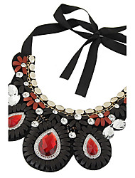Women's Fashion Bohemian Ethnic Droplets Necklace Collar Necklaces Jewelry