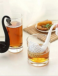 Novelty Swan Shape Tea Strainer Filter Herbal Spice  Filter Diffuser