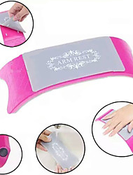 комфортно пластик& силиконовые ногтей подушки подушки маникюр аксессуары инструмент оборудование (цвет случайный)