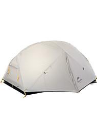 Naturehike 2 человека Световой тент Двойная Палатка Влагонепроницаемый Хорошая вентиляция Компактность С защитой от ветра