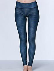 calças de yoga Calças Compressão Alto Elasticidade Alta Moda Esportiva Mulheres Ioga