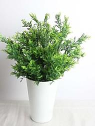 """14,2 """"искусственное растение 9 филиалов кипарис листьев 2 букеты"""