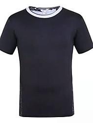 Laufen T-shirt Herrn / Unisex Kurze Ärmel Atmungsaktiv / Rasche Trocknung / Leichtes Material / Komfortabel Elastan / PolypropylenCamping