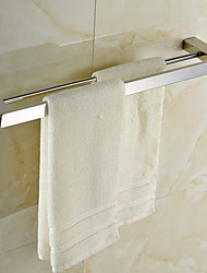 """Towel Bar Stainless Steel Wall Mounted 605 x 120 x 30mm (23.82 x 4.74 x 1.18"""") Stainless Steel Contemporary"""