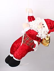 Weihnachtsdeko Weihnachts Geschenke Spielzeug für Weihnachten Urlaubszubehör Weihnachten Gewebe Schaum Rot