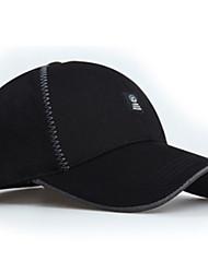 Chapeau Résistant aux ultraviolets Unisexe Base ball Eté Gris foncé Gris Clair Noir Bleu-Sportif®