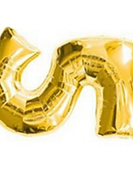 Balloons Holiday Supplies Square Rubber Gold For Boys / For Girls 2 to 4 Years / 5 to 7 Years / 8 to 13 Years