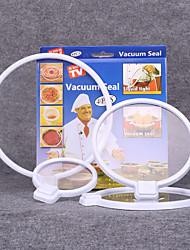 Smart Lids - Vac Seals Microwaveable Lids - 4 Pack