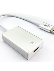 USB3.0 To HDMI High-Definition Interface External Graphics Adapter Cable Multi-Screen Expansion Converters