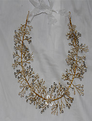 Women's Rhinestone Crystal Imitation Pearl Headpiece-Wedding Special Occasion Headbands 1 Piece