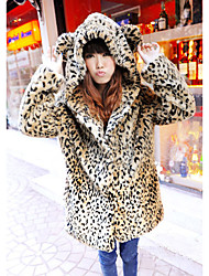 Fur Coat Long Sleeve Long