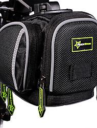Sac de VéloSac de Porte-Bagage/Double Sacoche de VéloEtanche Zip étanche Ecran tactile Respirable Téléphone/Iphone Résistant aux Chocs