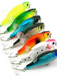 "1 pcs Metal Bait / Fishing Lures Hard Bait / Soft Bait Assorted Colors 12.5 g/7/16 oz. Ounce mm/3-1/4"" inch,MetalBait Casting / General"