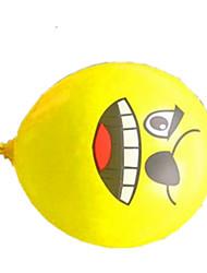 Balões Decoração Para Festas Circular Borracha Amarelo Para Meninos Para Meninas 2 a 4 Anos 5 a 7 Anos 8 a 13 Anos