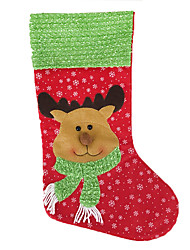 Christmas Decorations / Christmas Party Supplies / Christmas Toys / Gift Bags Holiday Supplies Socks / Santa Suits / Elk / Snowman Textile