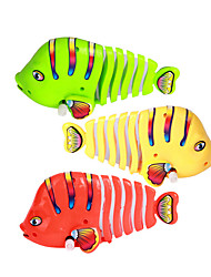 Water/Sand Inflatable Novelty Toy Toys Novelty Fish Plastic Red Green Yellow For Boys For Girls Random Color