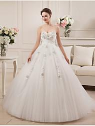 Vestido de noiva com o vestido de casamento de cetim com vestido de noiva