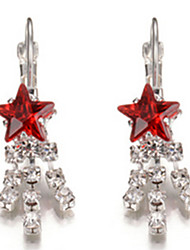 Women's Stud Earrings Crystal Alloy Jewelry For Party