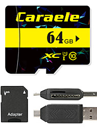 Caraele 64Go TF carte Micro SD Card carte mémoire UHS-I U1 Class10