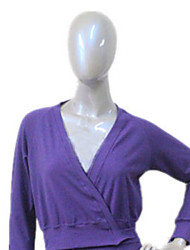 Cotton/Lycra Ballet Wrap More Colors for Girls and Ladies