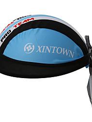 XINTOWN Moda Men Pirate Hat Gorra Ciclismo MTB One Size Casquillo De Los Deportes Protector Solar Bandana Cycling Sport Cap Blue & White