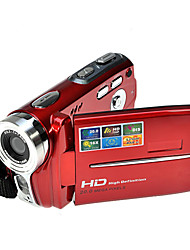 HD 720p Rich® 5MP 16x zoom de la cámara de vídeo digital cámara de vídeo digital roja