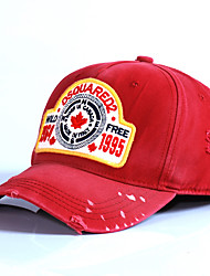 Cap/Beanie / Hat Protective / Comfortable Unisex Leisure Sports / Baseball Spring / Summer Red / Blue