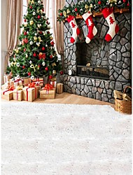 christmastree fond studio photo photographie décors 5x7ft