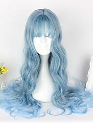 Amaloli Azul Piscina Lolita Peluca de Lolita  65cm CM Pelucas de Cosplay Pelucas Para